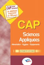 cap sciences appliquées alimentation, hygiène, équipement